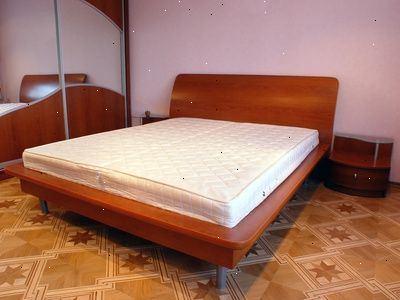 Hvordan til at bygge en platform seng med opbevaring